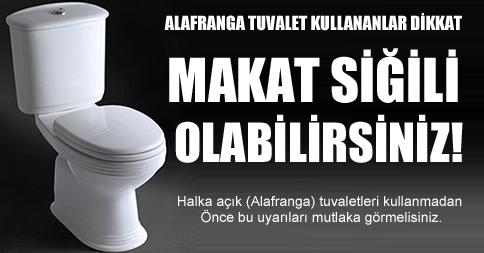 Tuvalet Sağlık Riski