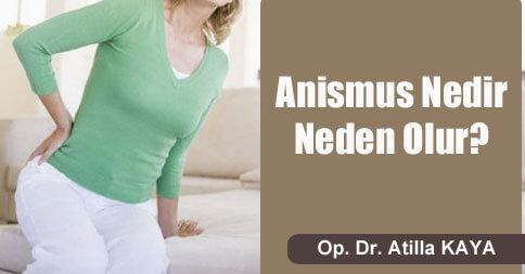 Anismus tedavisi kliniğimizde yapılmaktadır.